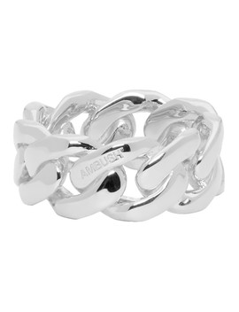Silver Chain 3 Ring by Ambush