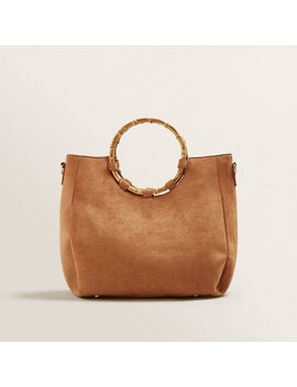 Bamboo Handle Tote by Seed Heritage
