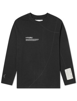 A Cold Wall* Long Sleeve Mission Statement Tee by A Cold Wall*