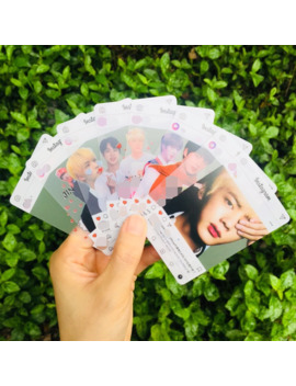 8pcs/Set Kpop Bangtan Boys Ins Transparent Photocard Map Of The Soul Persona Album Bangtan Boys Single Photo Card Kpop by Ali Express.Com