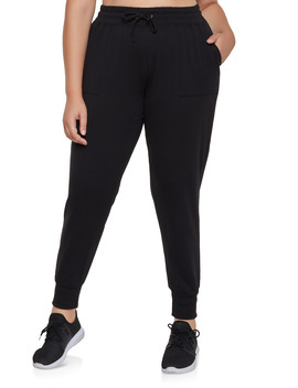 Plus Size 2 Pocket Joggers by Rainbow