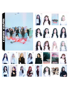 30 Pcs/Set Kpop Loona Girls Team Album Butterfly Photo Card Pvc Cards Self Made Lomo Card Photocard by Ali Express.Com
