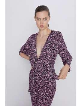 Bluse Mit Blumenmuster Special Pricesdamen by Zara