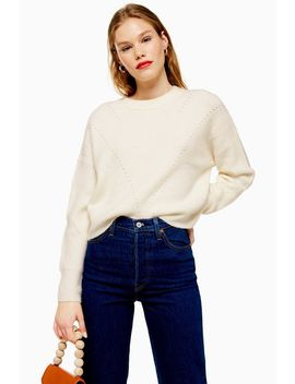 Superweicher Ajour Strickpulli by Topshop
