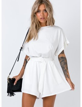 Dookie Playsuit by Princess Polly