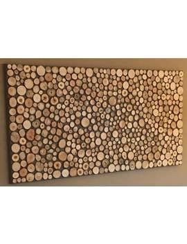 200 Holzscheiben, Astscheiben, Deko Holz by Etsy