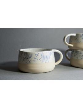 Keramik Tasse. Ausgefallene Steinzeug Becher Keramik. Handgemachte Keramik Tasse Getöpfert. Kaffeebecher by Etsy