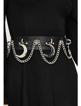 Moon Rawk Chain Belt by Killstar