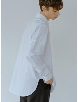 Basic Oxford Shirt White by Default