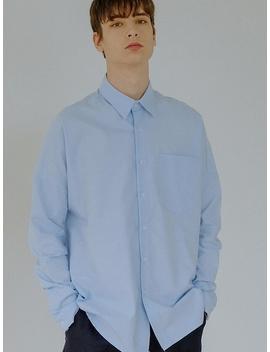 Basic Oxford Shirt Light Blue by Default