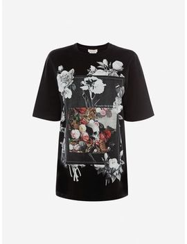 T Shirt Floral Album by Alexander Mc Queen