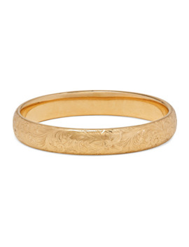 1910 14 Karat Gold Bangle by Fred Leighton