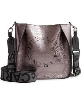 Mini Stella Perforated Logo Faux Leather Crossbody Bag by Stella Mccartney