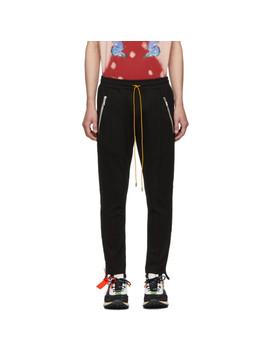 Black Traxedo Trousers by Rhude