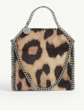 Falabella Leopard Print Mini Tote by Stella Mccartney