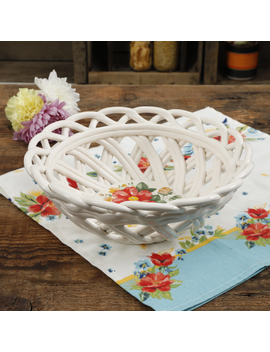 The Pioneer Woman Vintage Floral 7.5 Inch Bread Basket by The Pioneer Woman