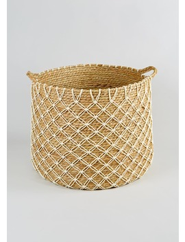 Knotted Basket (50cm X 45cm X 39cm) by Matalan