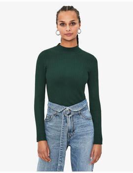Пуловер с полуполо яка by Bershka