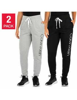 Calvin Klein Women's Lounge Pant, 2 Pack by Calvin Klein