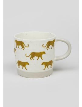 Leopard Mug (9cm X 9cm) by Matalan