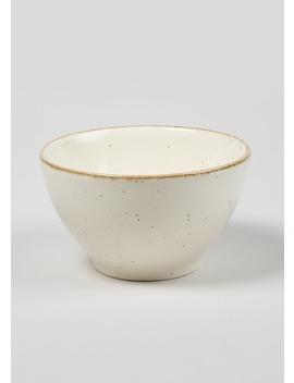 Speckle Bowl (15cm X 9cm) by Matalan