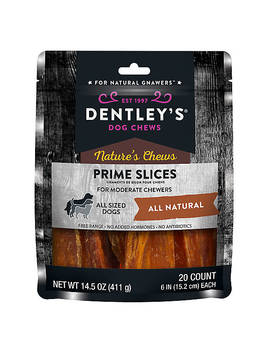 Dentley's® Nature's Chews Prime Slices Dog Treat by Dentley's