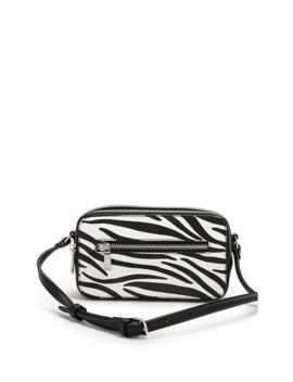 Zebra Print Crossbody Bag by Forever 21