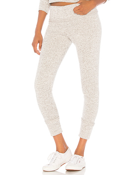 Fleece Legging In Heather Gray by Onzie