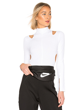 Nikelab Bodysuit In White by Nike
