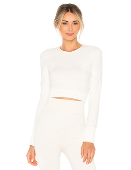 Nolen Crop Top In Lily White by Varley