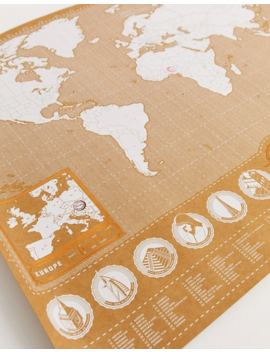 Luckies Stamp Map by Asos