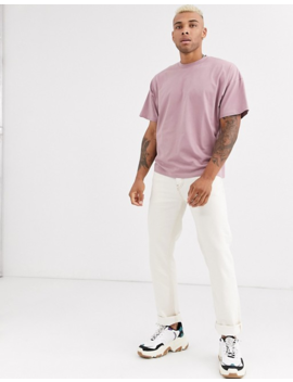 Asos Design Oversized T Shirt With Crew Neck In Purple by Asos Design