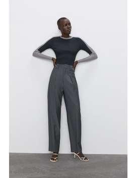 Colour Block Sweater  Jumpers Knitwear Woman by Zara