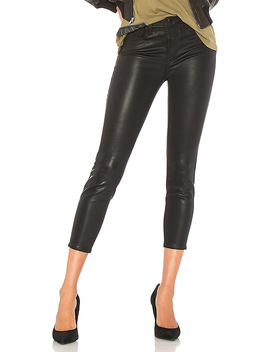 Margot Skinny Jean In Black Coated by L'agence