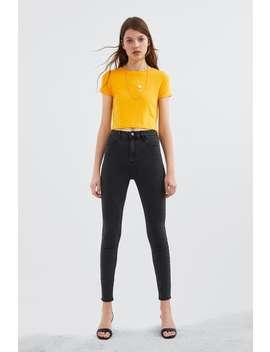 Basic Cropped T Shirtnew In Trf by Zara