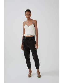 Embroidered Top New Intrf by Zara