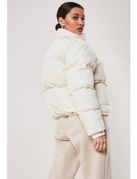 Veste Doudoune Blanche by Missguided