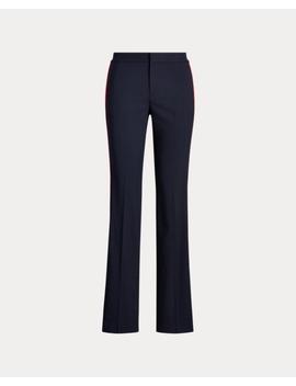 Side Stripe Wool Blend Pant by Ralph Lauren