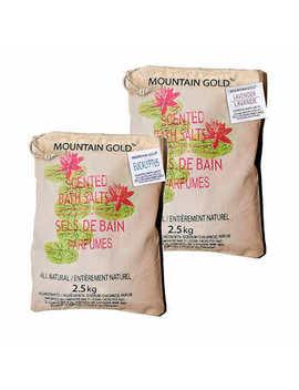 Himalayan Bath Salts, 2 Pack by Mountain Gold
