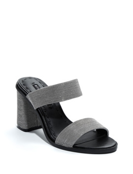 Talliey Chunky Heel Slide Sandals by Alice + Olivia