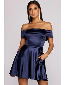 Jess Off The Shoulder Dress by Windsor