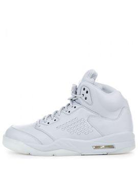 Air Jordan 5 Retro Premium White by Jordan