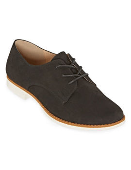 Arizona Womens Kalda Lace Up Round Toe Oxford Shoes by Arizona