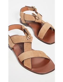 Cross Over Flat Sandals by Zimmermann