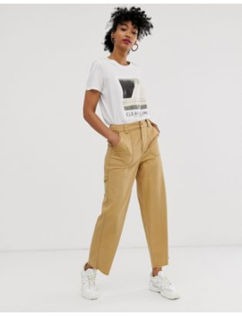 Asos Design – Carpenter – Hose In Sand by Asos