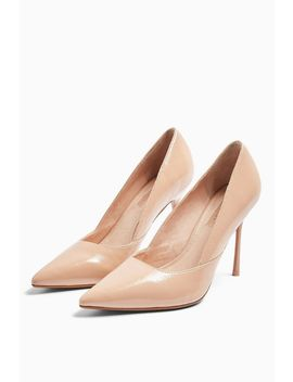 Georgia Nude Pointed Court Shoes by Topshop