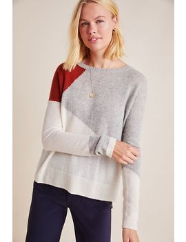Sima Colorblocked Cashmere Sweater by Charli
