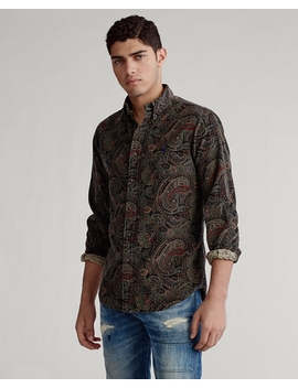 Corduroy Shirt   All Fits by Ralph Lauren