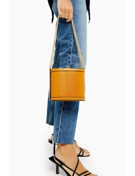 Sadie Mustard Shoulder Bag by Topshop