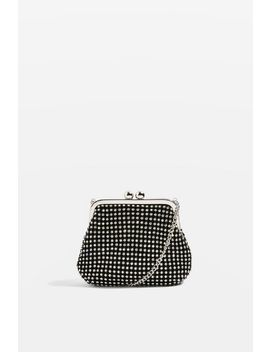 Taz Diamante Frame Pouch by Topshop